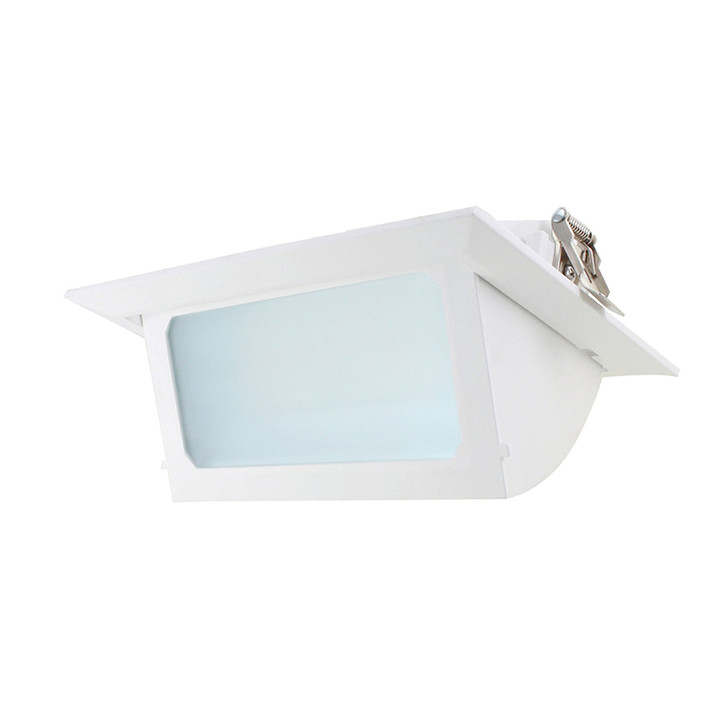 Angled Led Downlights Commercial Outside Light Fixtures Rectangle