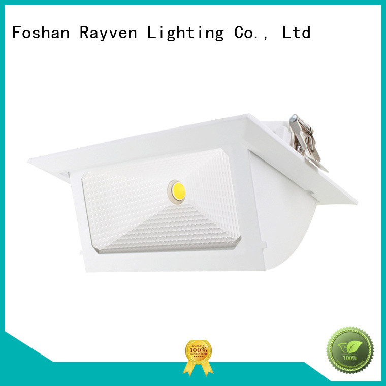 Latest square led downlights rectangle factory for office