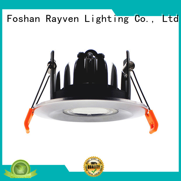 Rayven fire ip65 fire rated downlights for business for kitchen