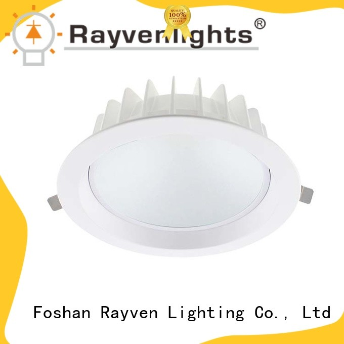 Rayven Latest 6 recessed led downlight suppliers for hotel