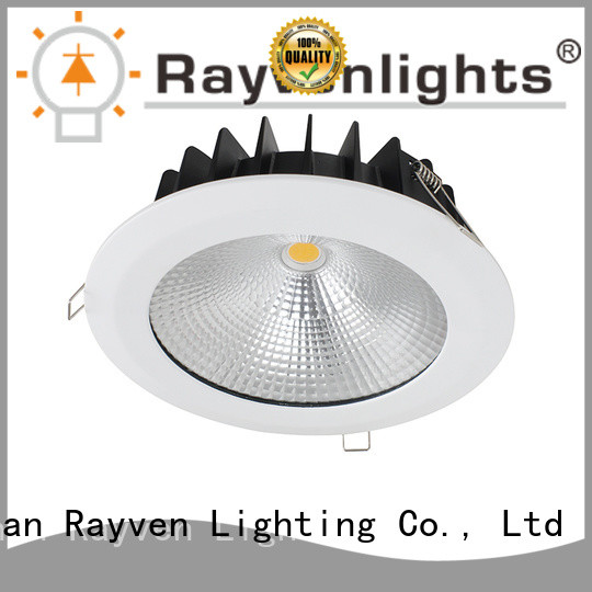 Rayven ip65 large downlights factory for bathroom