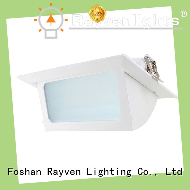Top square led downlights antiglare manufacturers for office