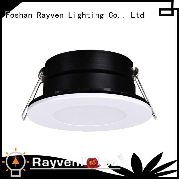 Rayven ceiling polished chrome led downlights for business for showers