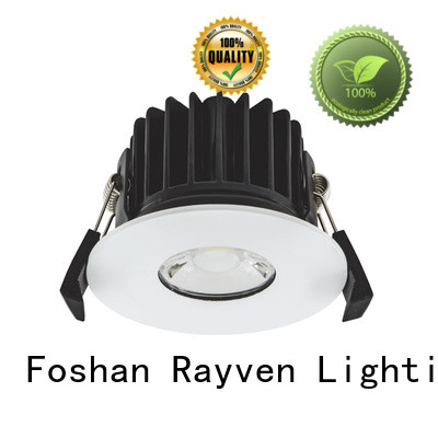 Rayven rgb ip65 led downlight 240v manufacturers for showers