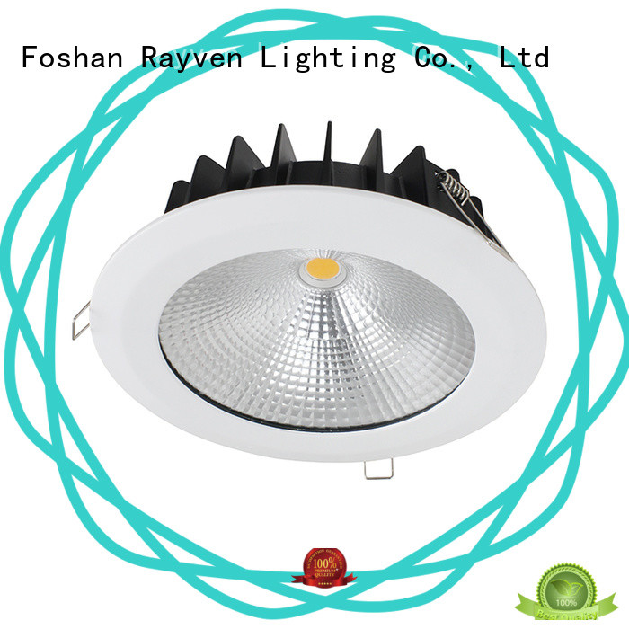 Rayven High-quality circular led downlights supply for shower