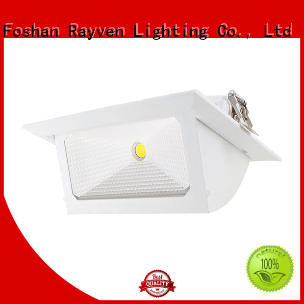 Best chrome led downlights outside suppliers for hotel