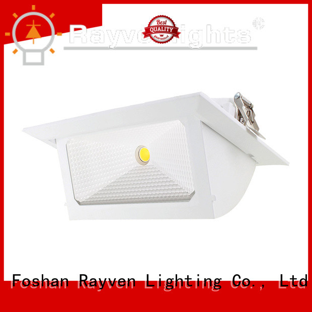 Rayven fixtures square led ceiling downlights manufacturers for hotel