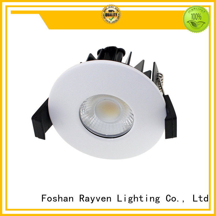 New adjustable fire rated led downlights series manufacturers for showers
