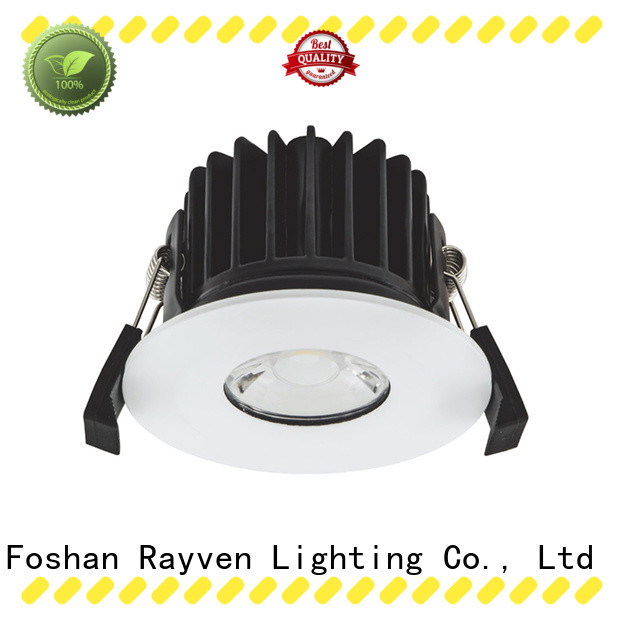 Rayven New cheap fire rated downlights supply for showers