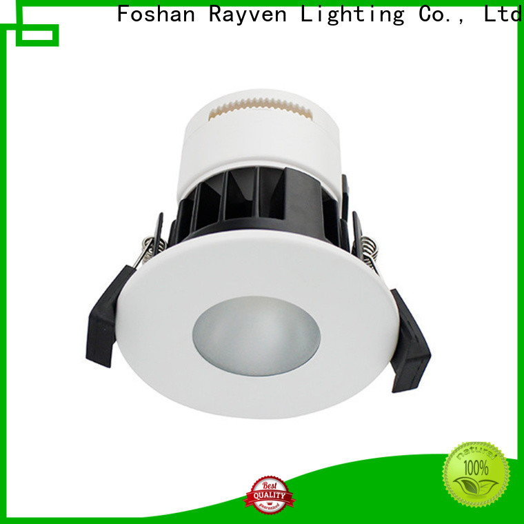 Rayven Custom fire rated led recessed lights company for showers