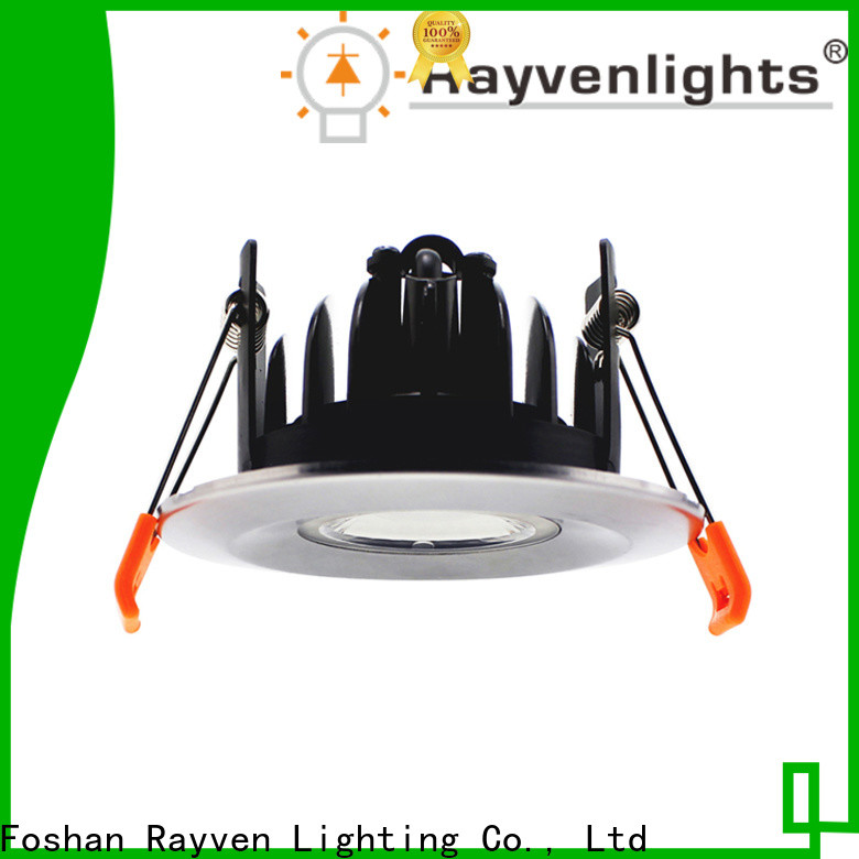 Rayven led 90mm downlight company for showers