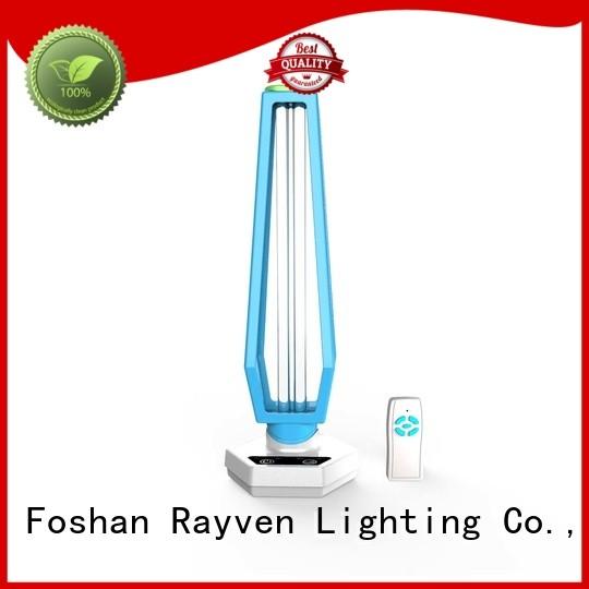 Rayven table short wavelength uv lamp factory for hotel